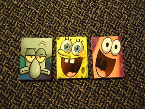 Set of 3 Spongebob Squarepants Hardcover Books