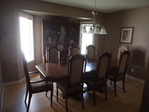 Dinning Room - 8 Seat + China Cabinet