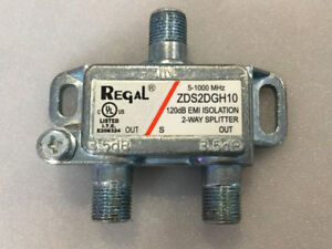 2-Way Splitter / Repartiteur de signal 2 voies Regal