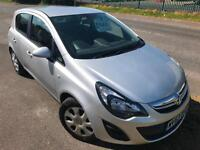 VAUXHALL CORSA 1.2 EXCLUSIVE £27 WEEK GREAT 1ST CAR CD/MP3 FSH 5DR HATCH 2013