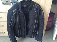 Jacket for motorcycle