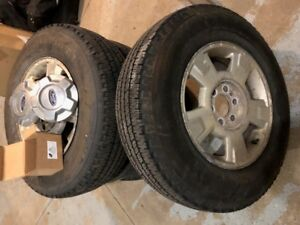 Ford F150 Tire & Mag Set 17'' P235 75R17