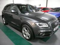 Audi Q5 2.0TDI ( 177ps ) ( s/s ) Tronic 2014MY quattro S Line Plus