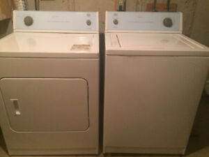 Roper- by Whirlpool washer/dryer ($200) wood kids bunk bed $150