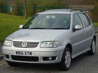 VOLKSWAGEN POLO 1.4 ( 75bhp ) 2000 SE,LONG MOT.LOW TAX,LOW INSURANCE