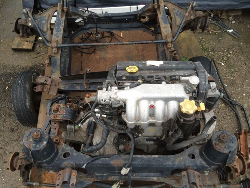 Rare Mgtf Mgf 160 Vvc Engine 160bhp Gearbox Frontrear Subfame