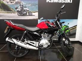 66 plate YAMAHA YBR125 in Red Low Mileage