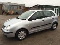 VOLKSWAGEN POLO 2004/53 MY S 1.4 PETROL - MANUAL - 1 PRV OWNER - FULL SRVC HIST