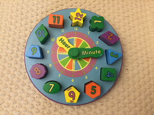 Wooden clock puzzle Kitchener / Waterloo Kitchener Area image 1