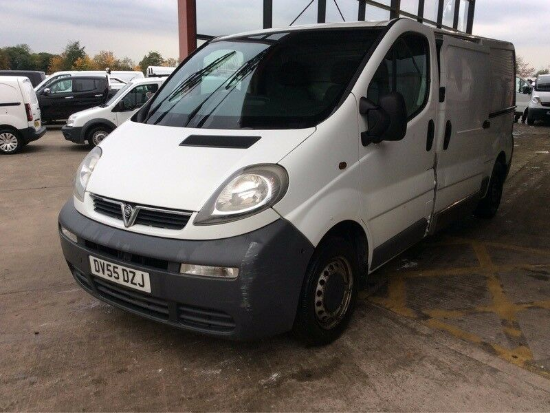 2005 VAUXHALL VIVARO 2.9T 1.9 CDTI 100 Long Wheel Base 5 Doors Panel Van Manual Diesel