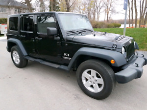 2008 Jeep Wrangler UNLIMITED, Manual