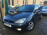 ✿54-Reg Ford Focus 1.8i Edge 3dr ✿NICE EXAMPLE✿