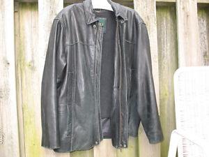 Mens Top Quality Danier Sheepskin Leather Coat w Liner London Ontario image 3