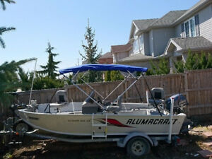 Alumacraft Lunker 165 CS with Yamaha F40LA, complete set-up