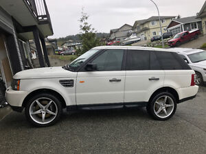 2008 Land Rover Range Rover Sport Supercharged SUV, Crossover