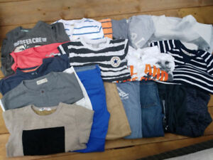 Large Lot of Boys Clothing 8 years (19 items for only $25)