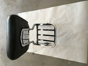 HD-detachable backrest with luggage rack