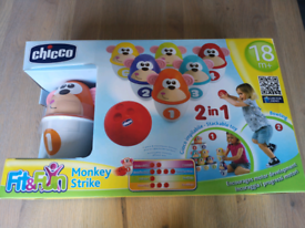 Chicco monkey strike bowling game
