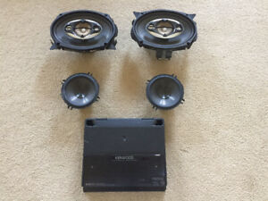 Kenwood speakers and Amp