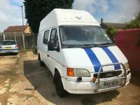 MOTORHOMES WANTED ANY CONDITION FAILED MOT WE BUY ANYTHING FORD TRANSIT