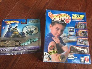 Brand New Hot Wheels Batman vs Mr. Freeze diecast plus more