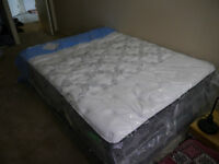 Mattress + Box Spring for sale (Queen Size Sealy)