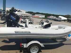 2012 Walker Bay 340 DL Dingy with/without New Trailer