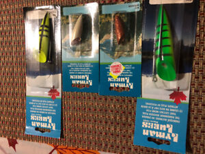 Lyman lures, New In Box. $75 or trade for vintage lures