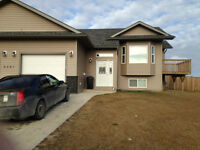 Half a Duplex for Rent in Cold Lake from September 01