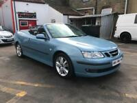 2007 SAAB 9-3 VECTOR ANNIVERSARY 2.0 T A CONVERTIBLE VERY LOW MILES 56971