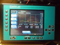 portable spectrum analyzer 46-900 mhz