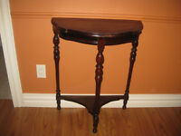Antique Hallway Table - solid wood