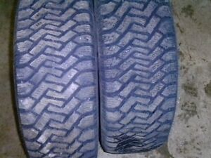 two winter tires size 265/60/r16