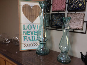 Large Vases and Picture.