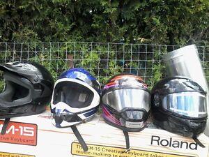 casques de moto