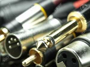 PROFESSIONAL MICROPHONE CABLES, XLR ,SPEAK ON CONNECTOR CABLES