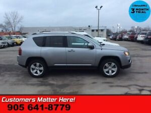2016 Jeep Compass Sport  4X4 LEATH ROOF PWR-SEAT HS BT