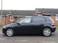 VOLKSWAGEN GOLF 2.0 GT TDI DSG 5d AUTO 138 BHP 2 PREVIOUS KEEPERS + CRUISE CONTROL