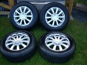 16 Inch Alloy Rims With Winter Tires