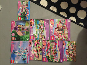A TON of Lego friends and Lego disney