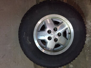 Jeep rims and 235/75/15 tires