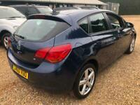 2010 Vauxhall Astra EXCLUSIV Auto Hatchback Petrol Automatic
