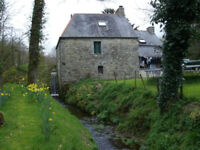 Renovated Water Mill in Brittany FRANCE