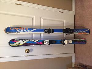 Skis pour enfants et adultes