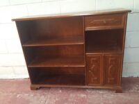 Sold wooden bookcase