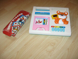 Vintage Show and Learn educational toy.