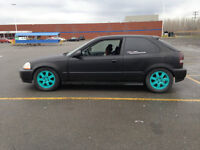 Honda Civic 97 Hatchback - B20B JDM + LSD