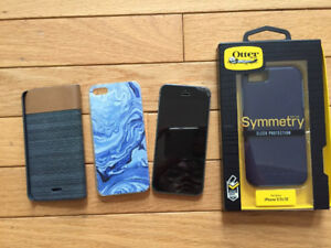 SELLING iPHONE 5S 16GB + CASES