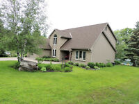 UPSCALE FAIRY LAKE HOME PLUS SEPARATELY DEEDED WATERFRONT LOT