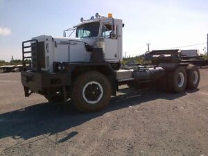 Kenworth C540 Prime Mover with trailer